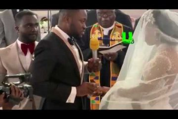 Kency2020 Osei Kwame Despite's Son Kennedy Osei kisses wife Tracy ... drone delivers wedding ringhttps://weunitemusic.com/wp-content/uploads/2020/02/Kency2020-Osei-Kwame-Despites-Son-Kennedy-Osei-kisses-wife-Tracy-...-drone-delivers-wedding-ring-1.jpg