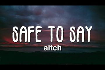 Aitch-Safe-To-Say.jpg - weunitemusic.com